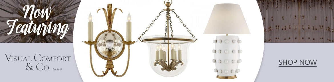 featuring WAC Lighting and Visual Comfort & Co.