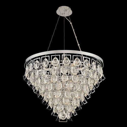 Allegri Lighting 031951-0 Carmella - Nine Light Adjustable Pendant