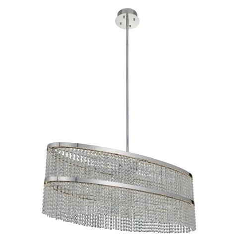 Allegri Lighting 036261-010-FR001 Cortina - 44 Inch 70W LED Oval Island