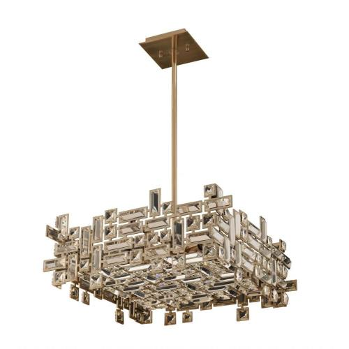 Allegri Lighting 11196-0 Vermeer - Eight Light Square Pendant