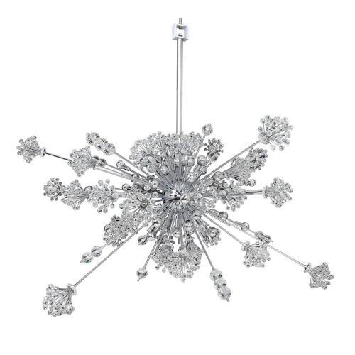 Allegri Lighting 11635-0 Constellation - Thirty Light Oval Pendant