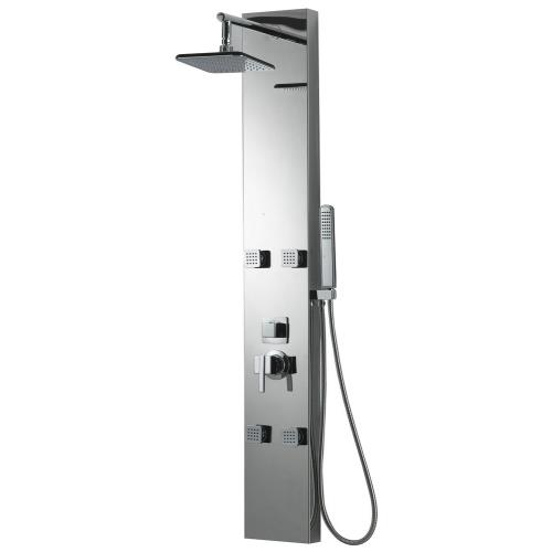 "American Imaginations AI-11042 7.87"" Rectangle Wall Mount Shower Panel"