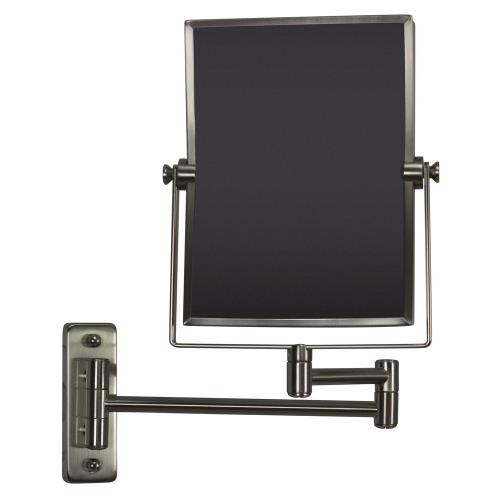 American Imaginations AI-6466 16.36 Inch Rectangle Wall Mount Magnifying Mirror