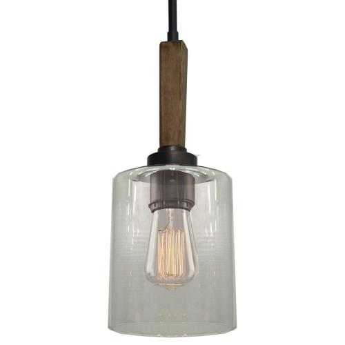 Artcraft Lighting AC10141 Legno Rustico - 1 Light Pendant