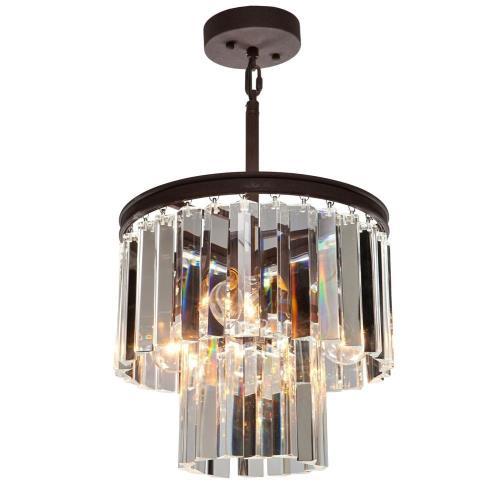Artcraft Lighting AC10403 El Dorado - Three Light Chandelier