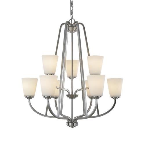 Artcraft Lighting AC10469 Hudson - Nine Light Chandelier