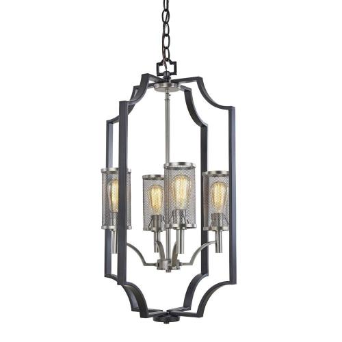 Artcraft Lighting AC10494 Oxford - 4 Light Chandelier