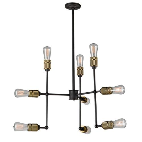 Artcraft Lighting AC10589VB Jersey - 9 Light Chandelier