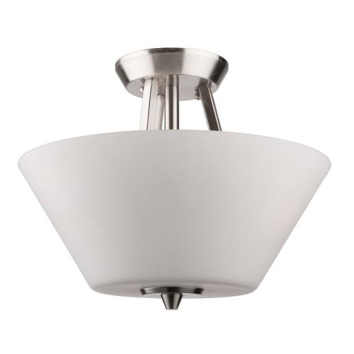 Artcraft Lighting AC10918BN Clayton - Three Light Flush Mount