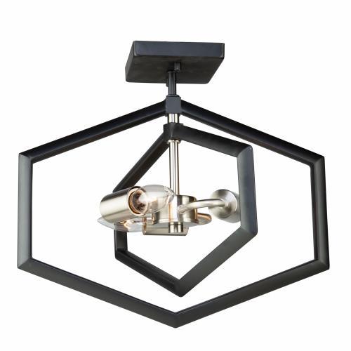 Artcraft Lighting AC10993NB Preston - Three Light Pendant