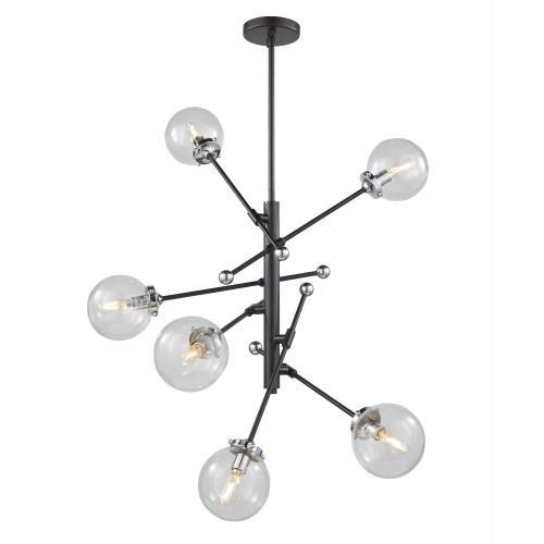 Artcraft Lighting AC11436CL Vero Modo - Six Light Chandelier