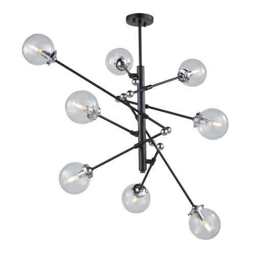 Artcraft Lighting AC11438CL Vero Modo - Eight Light Chandelier