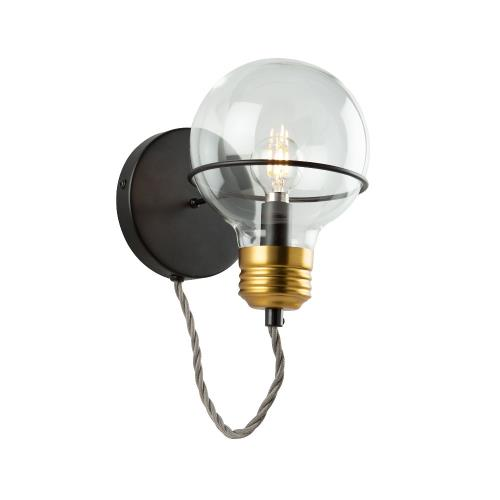 Artcraft Lighting AC11721 Martina-1 Light Wall Sconce in Industrial Style-5 Inches Wide by 11 Inches High