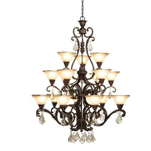 Artcraft Lighting AC1831 Florence - Eighteen Light Chandelier