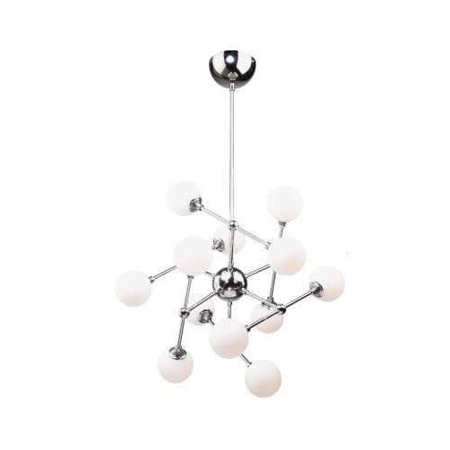 Artcraft Lighting AC7562 Luna - 26 Inch 43.2W 12 LED Chandelier