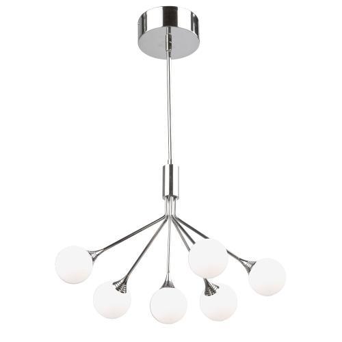 Artcraft Lighting AC7566 Luna - 19 Inch 28.8W 6 LED Chandelier