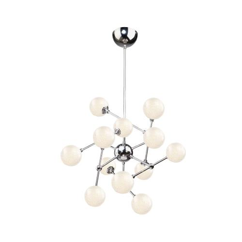 Artcraft Lighting AC7572 Odyssey - 26 Inch 43.2W 12 LED Chandelier