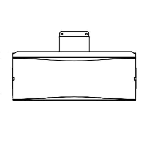 Bromic Heating BH8080007 Replament Part - 5 Burner Glass Radiant Heater Wind Kicker