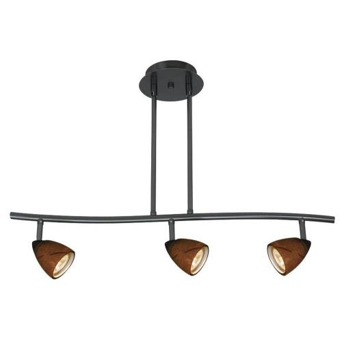 Cal Lighting SL-954-3-DB/AMS Serpentine - Three Light Track