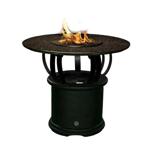 California Outdoor Concepts 2030 Del Mar - Bar Height Outdoor Fireplace