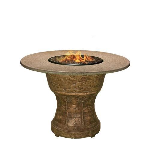 "California Outdoor Concepts 7330 Palm - 48"" Bar Height Capistrano Mosaic Fire Pit"