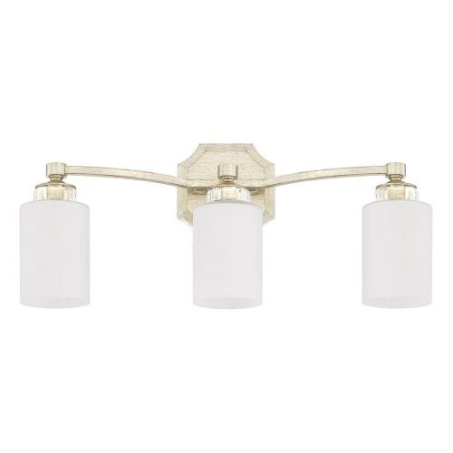 Capital Lighting 115031WG-375 Olivia 3 Light Transitional Bath Vanity Approved for Damp Locations