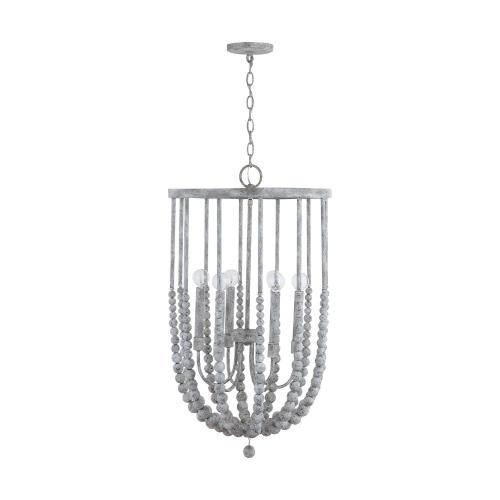 Capital Lighting 533561 32 Inch 6 Light Foyer