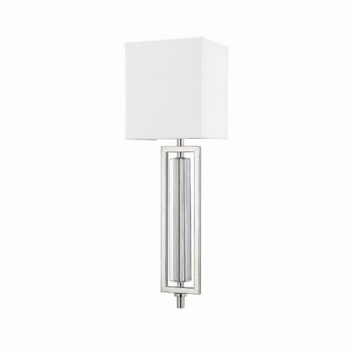 Capital Lighting 611911PN Hudson - One Light Wall Sconce