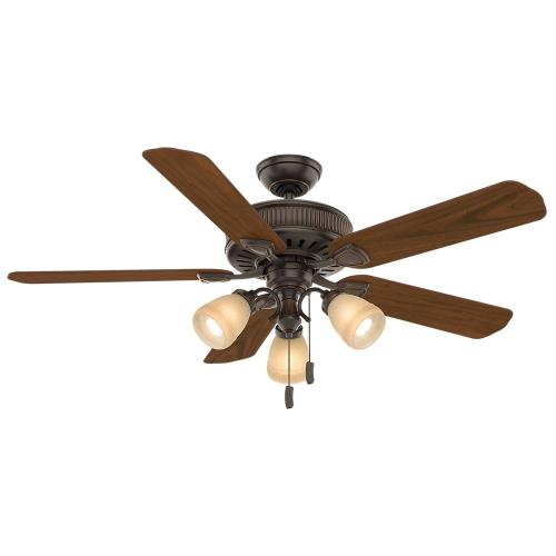 Casablanca Fans 54006 Ainsworth Gallery 5 Blade 54 Inch Ceiling Fan with Pull Chain Control