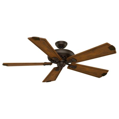 Casablanca Fans 28484 Fellini - 5 Blade 60 Inch Ceiling Fan with Wall Control in Traditional Style and includes 5 Motor Speed settings