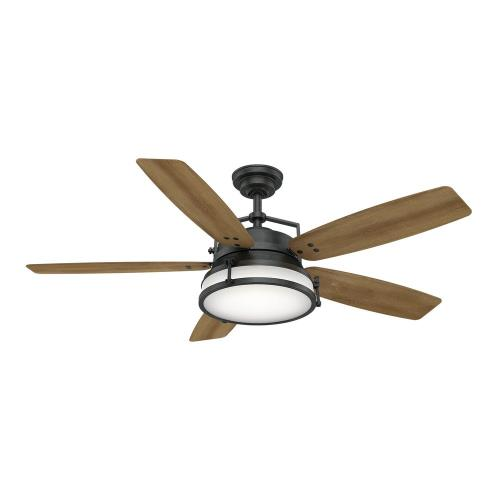 Casablanca Fans 5935F Caneel Bay 5 Blade 56 Inch Ceiling Fan with Wall Control