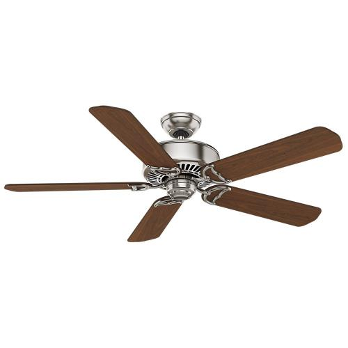 Casablanca Fans C66U45B Panama DC - 5 Blade 54 Inch Ceiling Fan with Handheld Control in Rustic Industrial Style and includes 5 Motor Speed settings