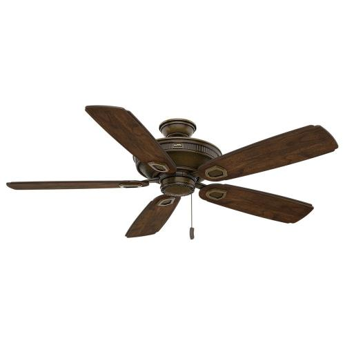 Casablanca Fans 59527 Heritage - 5 Blade 60 Inch Ceiling Fan in Farmhouse Traditional Style and includes 5 Motor Speed settings