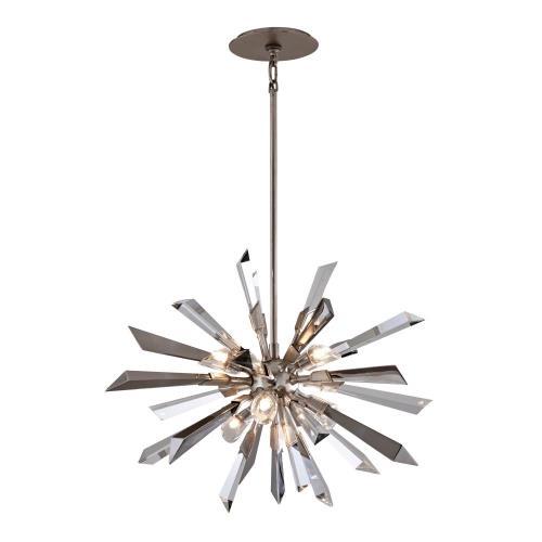 Corbett Lighting 140-46 Inertia - Six Light Medium Pendant