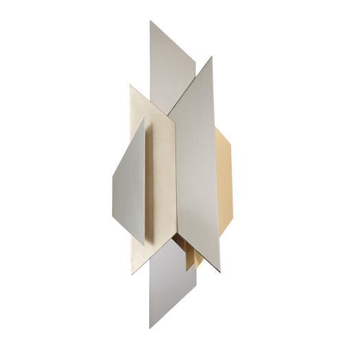 Corbett Lighting 207-12 Modernist - Two Light Mini Wall Sconce
