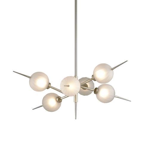 Corbett Lighting 263-06 Tempest - 35 Inch 24W 6 LED Chandelier
