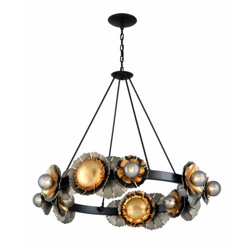 Corbett Lighting 278-010 Magic Garden - Ten Light Chandelier