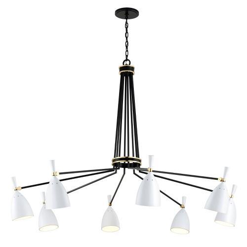 Corbett Lighting 280-08 Utopia - 63.5 Inch 96W 8 LED Chandelier