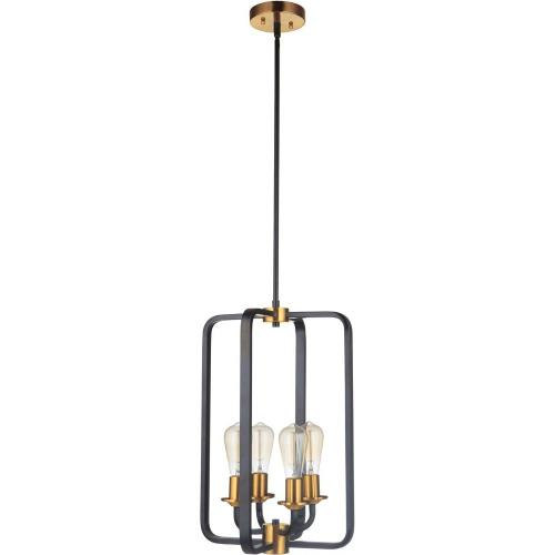 Craftmade Lighting 50334 Randolph - Four Light Foyer in Transitional Style - 14 inches wide by 20 inches high