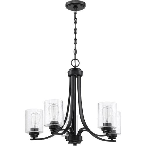 Craftmade Lighting 50525 Bolden - Five Light Chandelier in Transitional Style - 24 inches wide by 20.5 inches high
