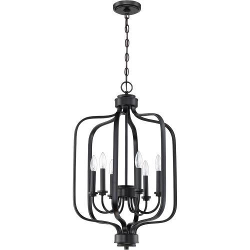 Craftmade Lighting 50536 Bolden - Six Light Foyer in Transitional Style - 18 inches wide by 29 inches high