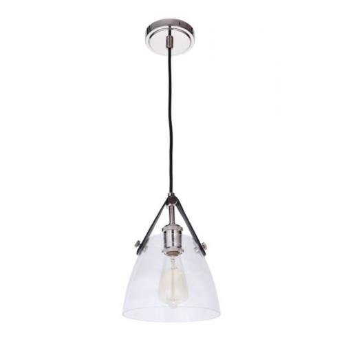Craftmade Lighting 51391 Hagen - One Light Pendant - 7.87 inches wide by 11 inches high