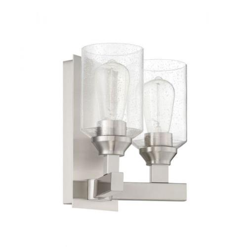 Craftmade Lighting 53162 Chicago - Two Light Wall Sconce in Transitional Style - 10 inches wide by 10 inches high