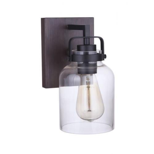 Craftmade Lighting 53601 Foxwood - One Light Wall Sconce - 5 inches wide by 9.5 inches high