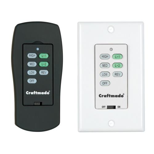 Craftmade Lighting AT American Tradition - 1.5 Amps 300W Model Specific ICS Control System with Clamshell Remote