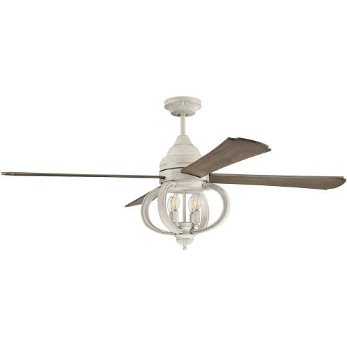 Craftmade Lighting AUG60CW4 Augusta - 60 Inch Ceiling Fan with Light Kit