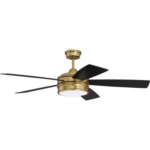 Craftmade Lighting BRX52SB5 Braxton - 52 Inch Ceiling Fan with Light Kit