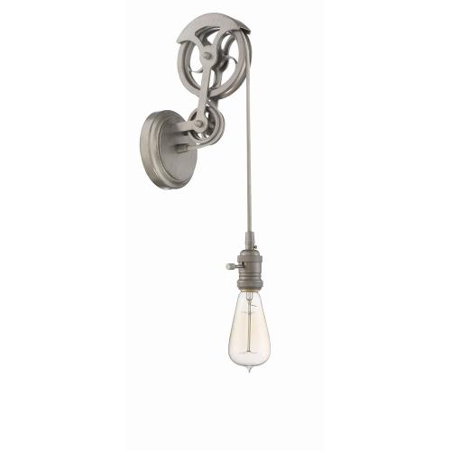 Craftmade Lighting CPMKPW-1 Design-A-Fixture - One Light Keyed Socket Pulley Wall Sconce Hardware