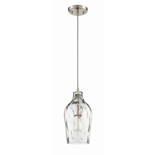 Craftmade Lighting P725BNK1 6.63 Inch One Light Mini Pendant