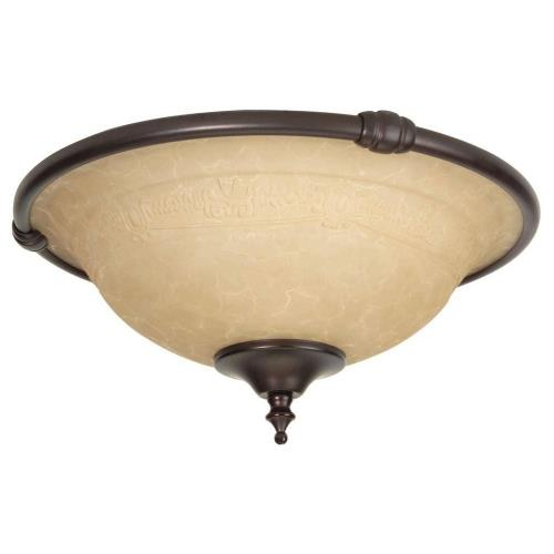Craftmade Lighting LK24CFL Metal Rim Bowl Kit in Traditional Style - 12.25 inches wide by 6 inches high